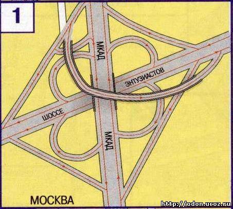 """От МКАД до КПП  """"Северные ворота """" около...  Ответ...  Схема развязки. посмотреть фото на Яндекс-карты..."""